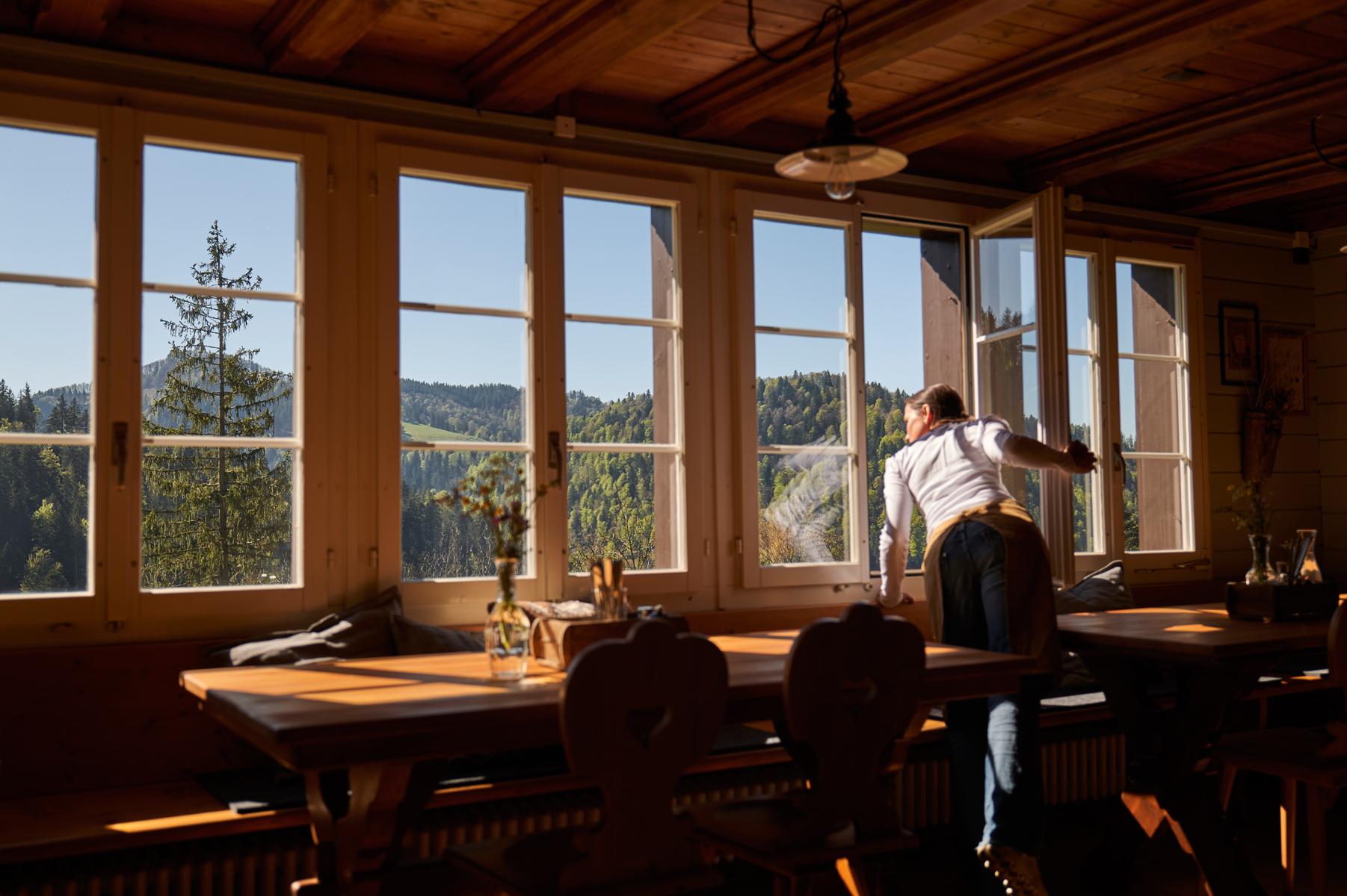 Berghaus Sennhütte Gaststube